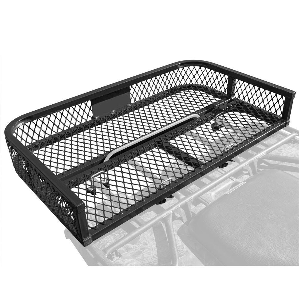 steel mesh atv rear rack basket
