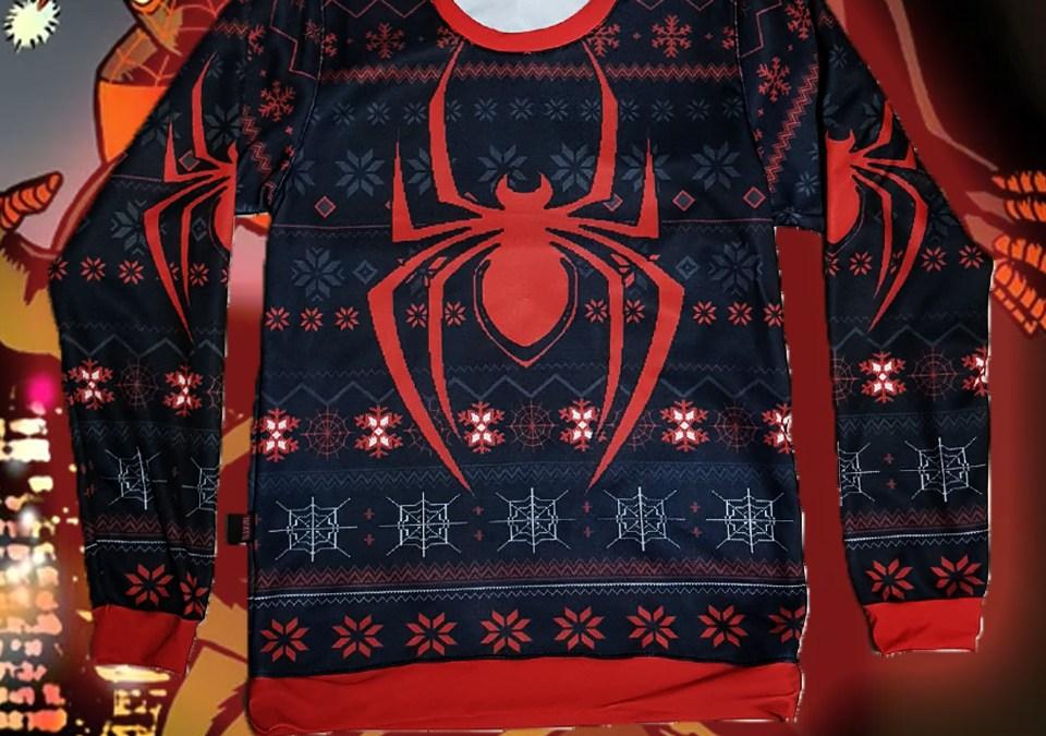 S575. Sueter Spiderman Morales