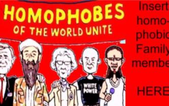 Homo-phobic Fam insert here blog #17