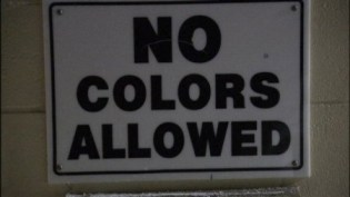 no colors allowed