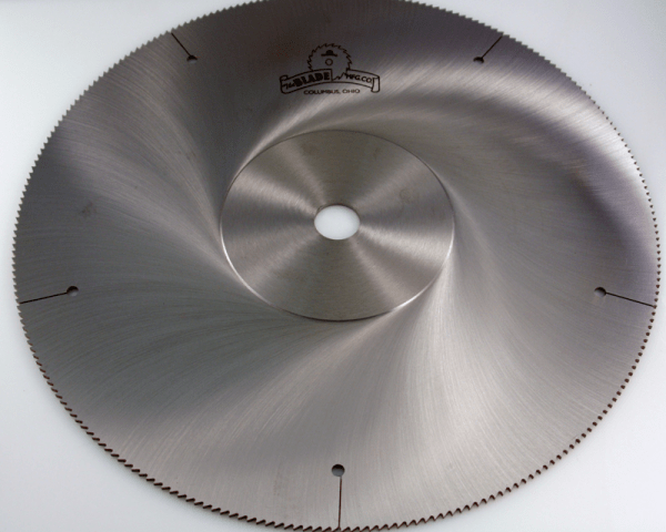 High Speed Steel Saw Blades The Blade Mfg Co