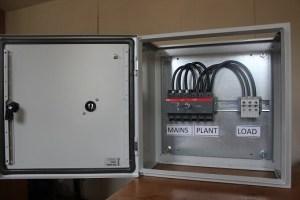 Manual Transfer  80 Amp ABB Single PhaseAutomatic