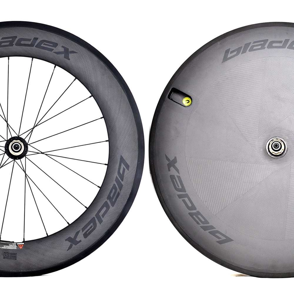 ULTIMATE™ 9 X Disc Wheelset White