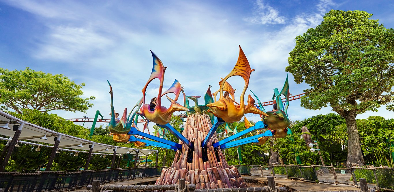 Dino-Soarin, Universal Studios Singapore