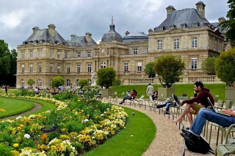 taman jardin du luxembourg, paris, perancis