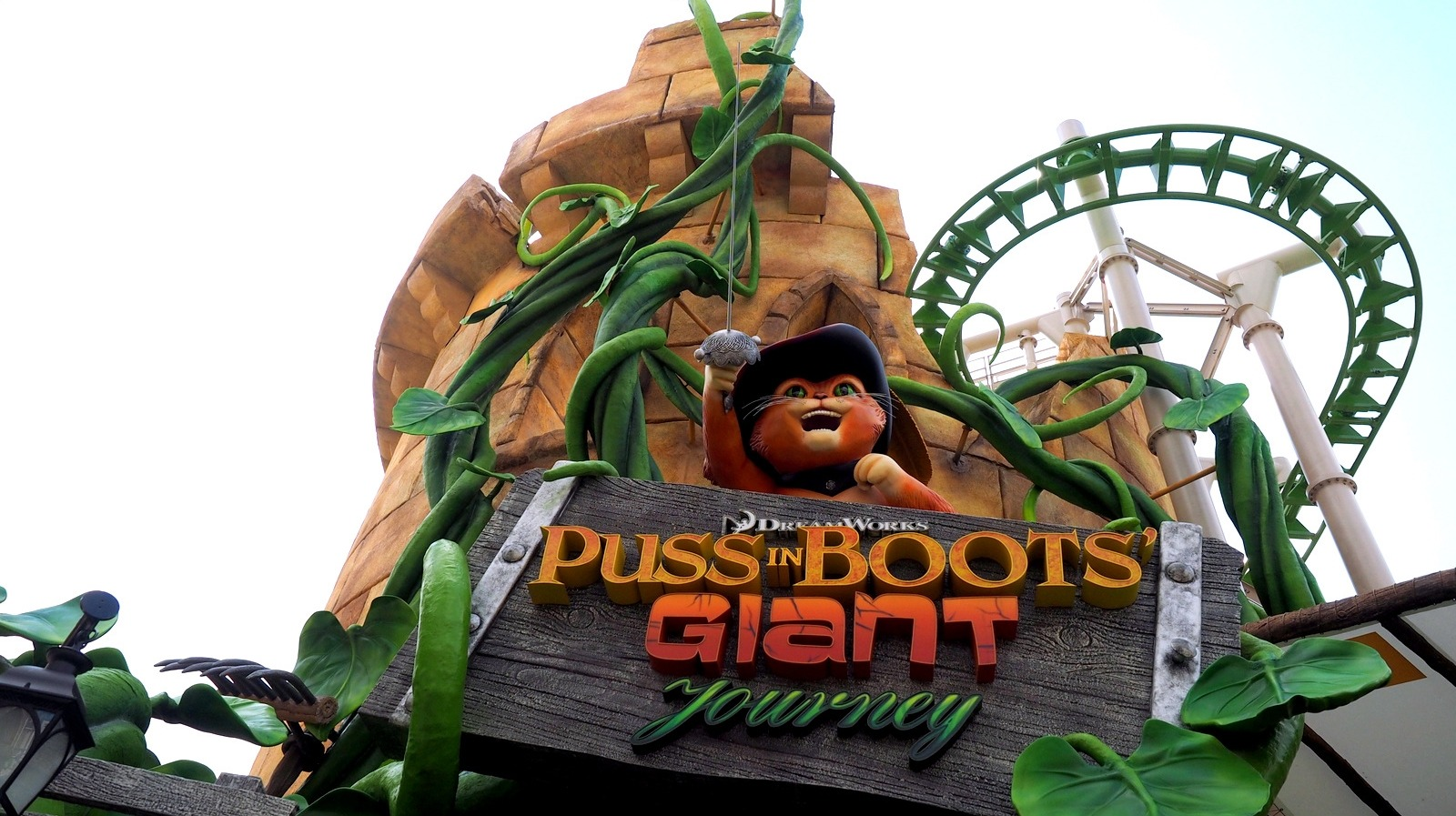 Puss In Boots 'Giant Journey, Universal Studios Singapore