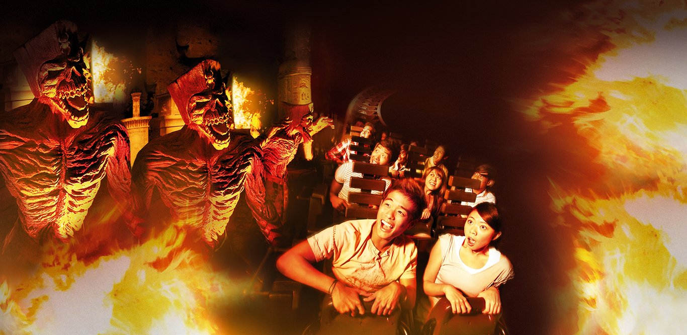 Revenge of the Mummy, Universal Studios Singapore