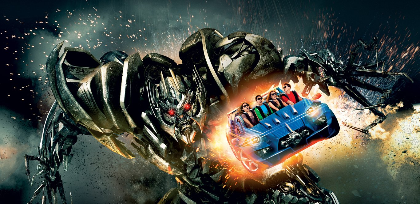 TRANSFORMERS The Ride The Ultimate 3D Battle, Universal Studios Singapore