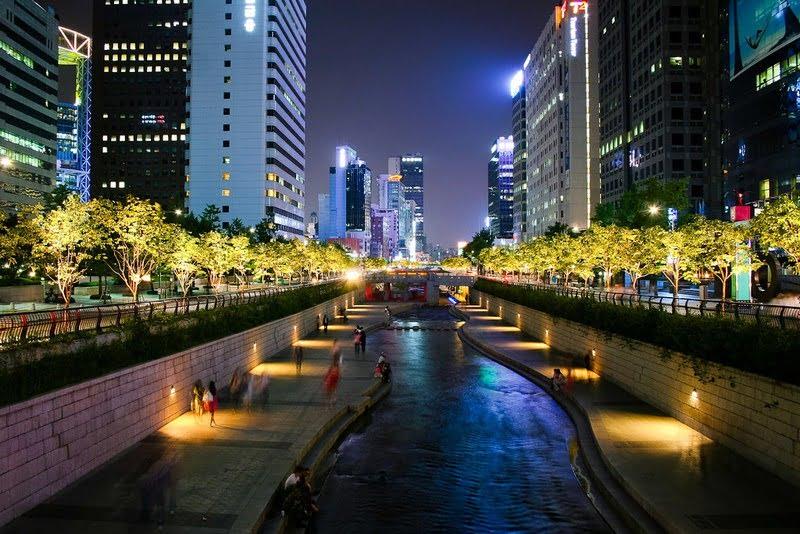 cheonggyecheon korea selatan
