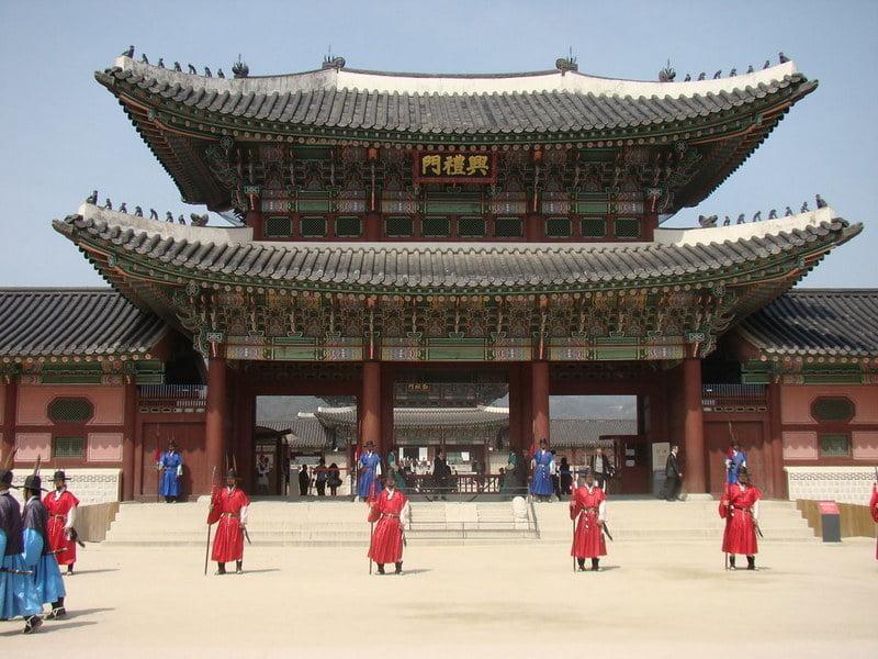 Gyeongbokgung Palace, Korea Selatan