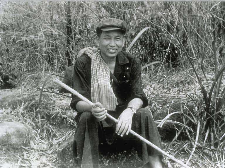 foto pemimpin khmer merah, pol pot