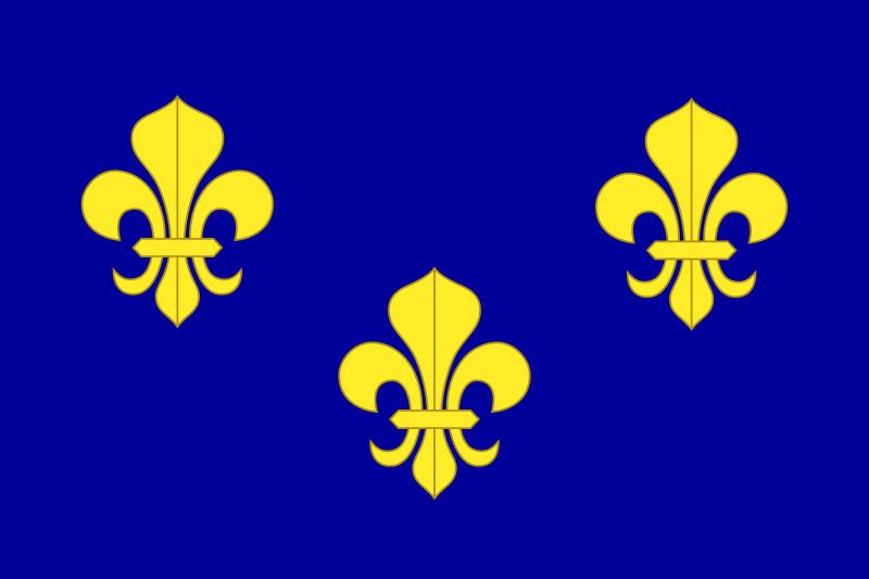 simbol fleur-de-lis perancis