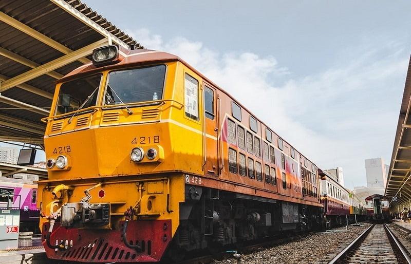 kereta api bangkok, thailand
