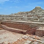 reruntuhan kota kuno mohenjo-daro