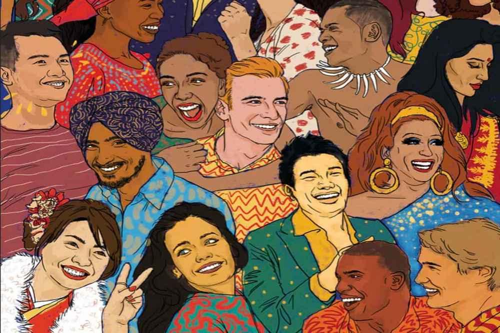 manusia dari berbagai etnis dan budaya dalam antropologi