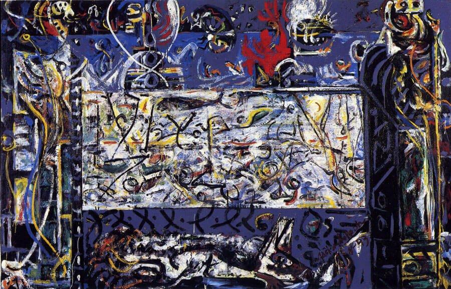 Guardians of the Secret, by Jackson Pollock