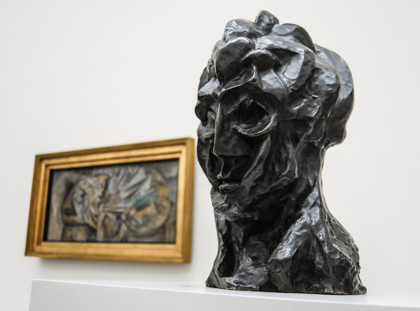 """Pablo Picasso, Head of a Woman,"""" 1909–10"""