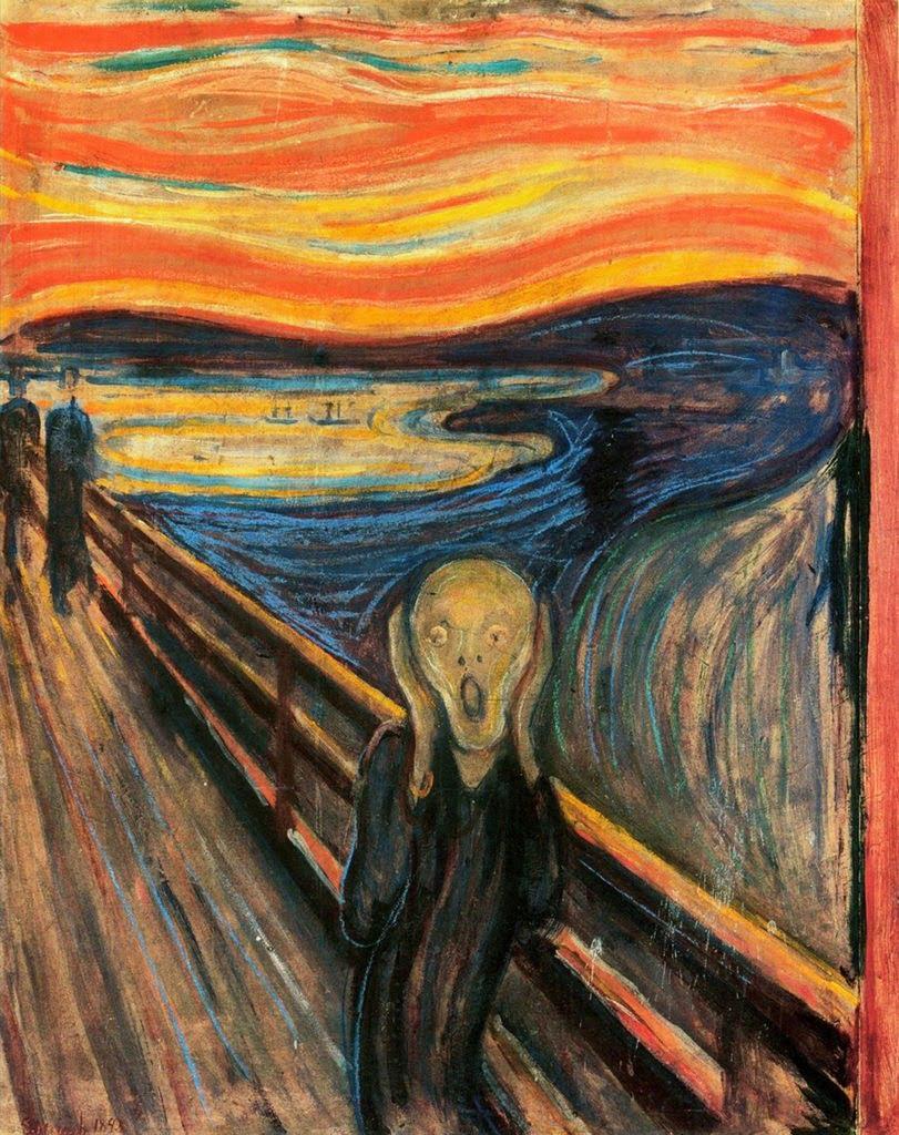 The Scream, by Edvard Munch