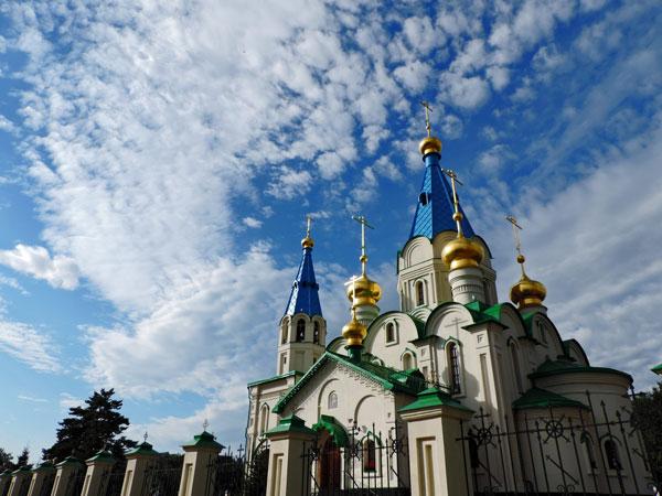 Благовещенский кафедральный собор г. Благовещенска. Фото: Андрей Анохин