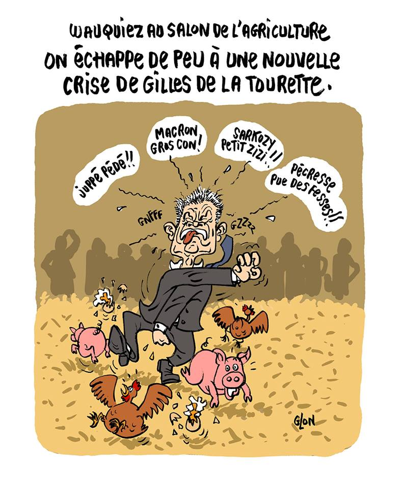 dessin de Laurent Wauquiez  Blagues et Dessins