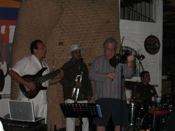 C.C's in Puerta Vallarta, Marcos and Cuban trumpet player