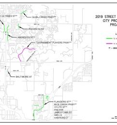 19 07 2019 2020 street reconstructions location map [ 3400 x 2200 Pixel ]