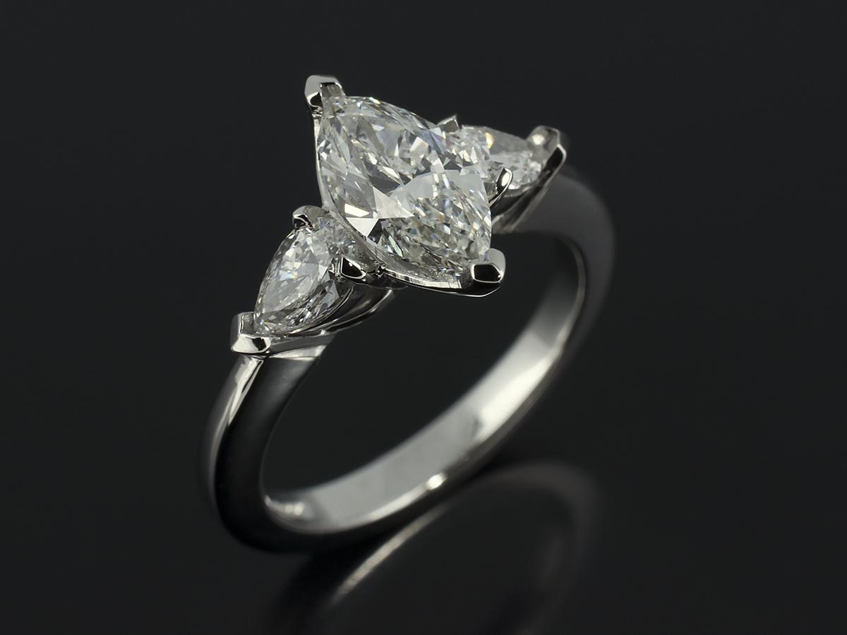 Pear Cut Marquise Cut  Heart Cut Diamond Engagement Rings Glasgow