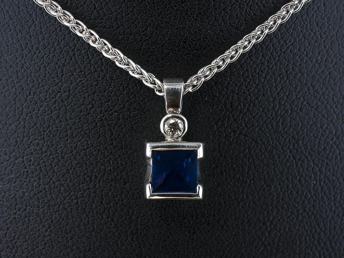 Hand made Diamond and Precious Stone Pendants Glasgow