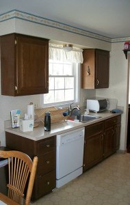 Kitchen - Before remodel
