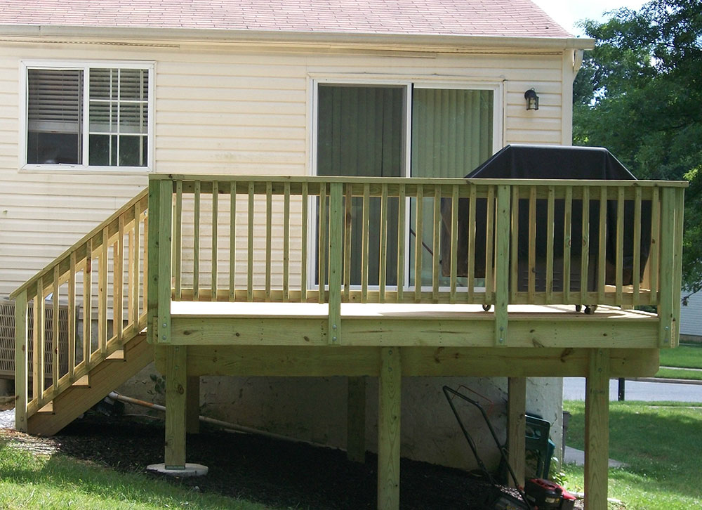 Finished Deck construction