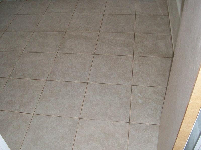 New Bath Floor remodel