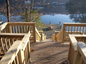 Deck Before Winter