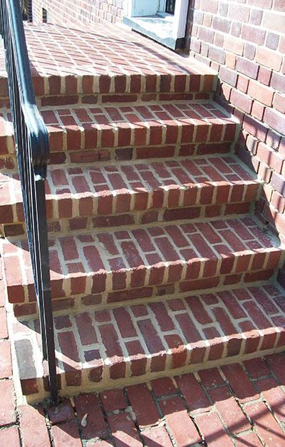 Brick Work - After