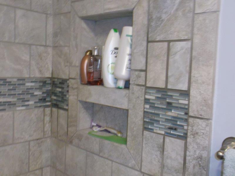New Bath Tile remodel