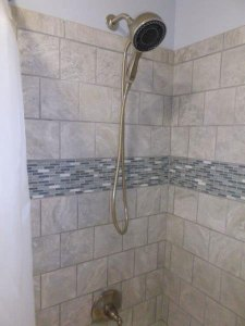 New Shower remodel