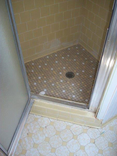 Blair Construction - Bathroom Remodel - Before