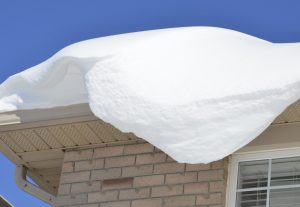 Winter Snow on a Roof