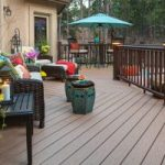 Make full use of your deck for your Memorial Day cookout!