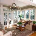 A 4-season sun room allows you to enjoy the beautiful view of the outdoors without having to worry about pests and inclement weather!