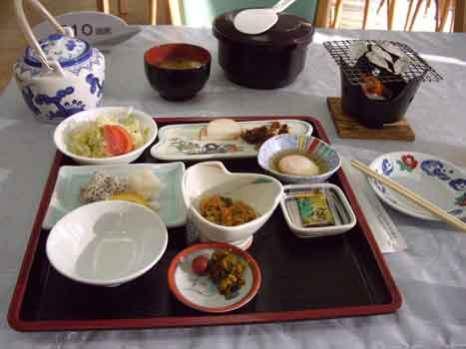 Katsurahama breakfast