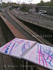 sketchbook Blair Thomson