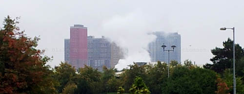 Urban steam skyscrapers
