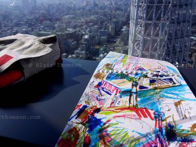 Drawing Tokyo 4 (www.blairthomson.com)