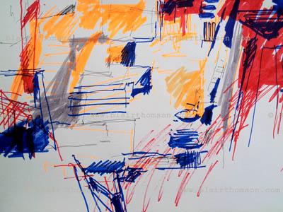Drawing Tokyo 7 (www.blairthomson.com)