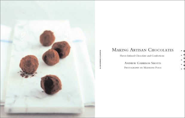 Artisan Chocolate title page
