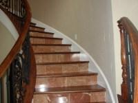 Stairway in Custom Home - Blake Construction