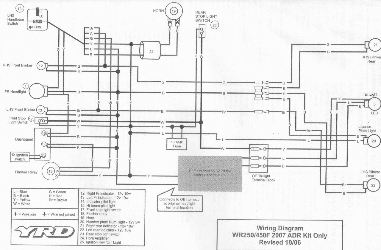 VQY Wiring Diagram 2004 Wr450f Ebook Download ~ Download