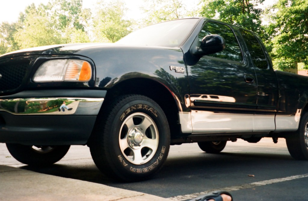 2001 F-150 truck when it was new