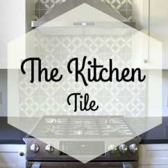 Cement Tile Kitchen How Much Does A Remodel Cost Backsplash Do It Yourself Blake Hill House