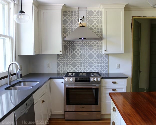cement tile kitchen how to decorate counter space backsplash do it yourself blake hill house